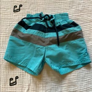 I play trunk with Built-In Swim Diaper